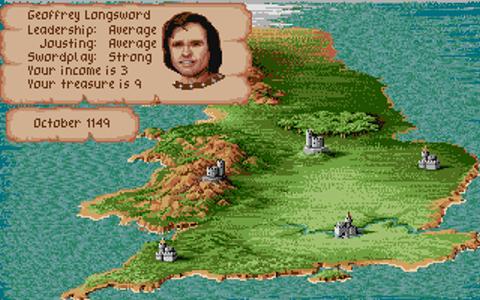 Historien möter spel – Defender of the Crown