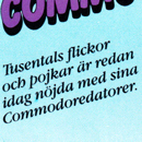 Skes: tjejerna och kvinnorna med C64