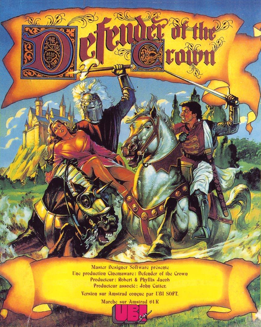 Så gjordes omslaget till Defender of the Crown (1986)