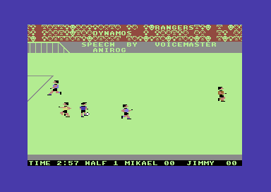 Five a Side (Anirog Software, 1985, C64)_5