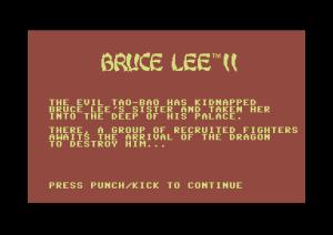 Bruce Lee 2  - intro
