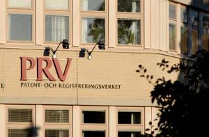 PRV är den myndighet som hanterar svenska patent- och varumärkesregistreringar.