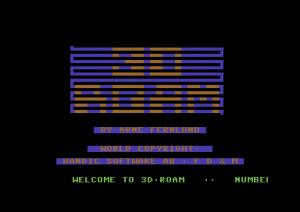 3D Roam (Arne Fernlund, 1984, C64)_1