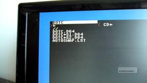 Ordning och reda, diskfiler och diskfilslista i samma mapp.