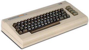 Commodores succédator C64 i tidig tappning.
