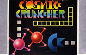 Cosmic Crunch handlar om en Commodore-logga som käkar satelliter...
