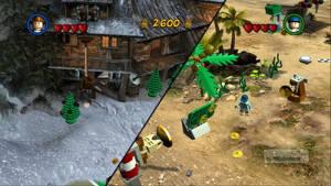 I LEGO Indiana Jones 2 införde Traveller's Tale en dynamiskt delad skärm; ni spelar på samma skärm när ni är nära men på olika när ni delat på er.
