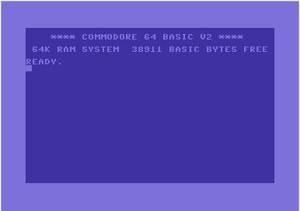 Commodore 64, när det begav sig.
