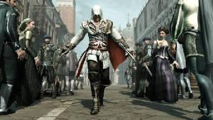 Hur bör en folkmassa reagera på att Ezio drar fram sina dolda knivar ur ärmarna? Och hur påverkar det spelet?