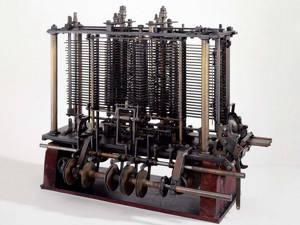 Charles Babbages 'Analytical Engine' - som han aldrig själv lyckades konstruera annat än i teorin.