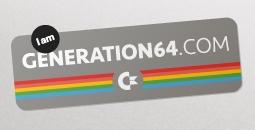 Skaffa Generation 64-stickern till din laptop
