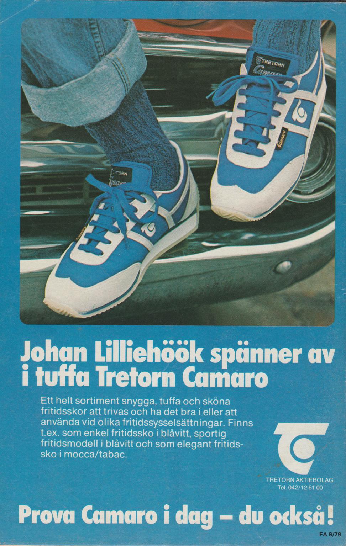 2c79a3ec1d2 Men … i kapitlet om kläder, skor och uteliv stötte vi på en märklig annons.  Den visar ett par Tretorn-skor och refererar till en person på ett sätt som  gör ...