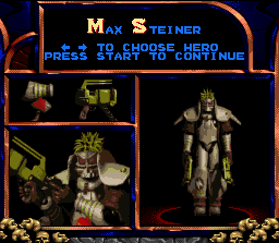 02-doom-troopers-mutant-chronicles-snes-screenshot-selecting