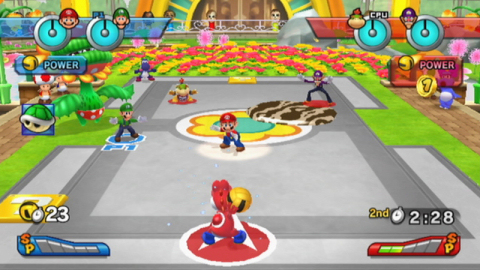 MarioSportsMix_DodgeBall_use_outfield