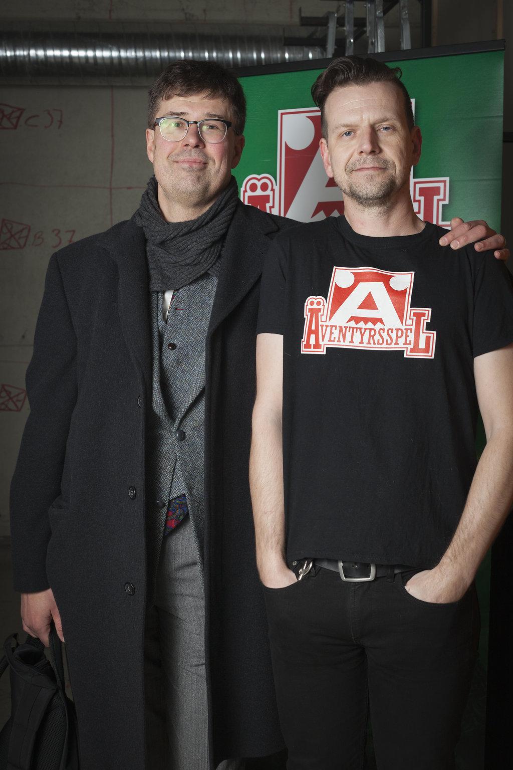 Johan Anglemark och Dan Algstrand