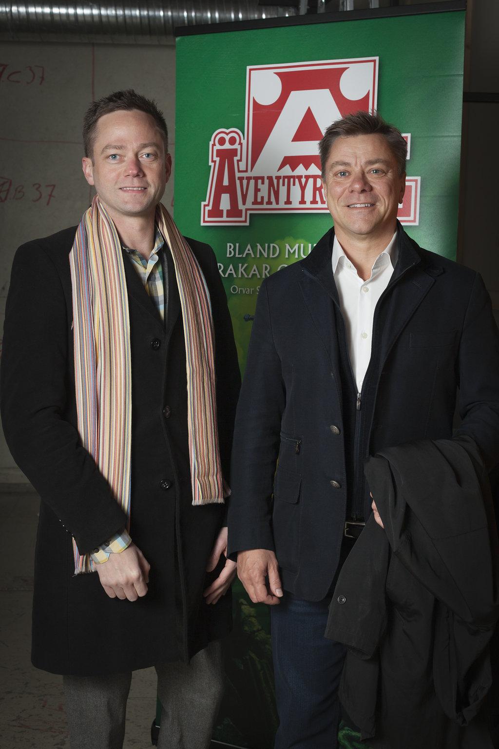 Joakim Zetterberg och Fredrik Malmberg