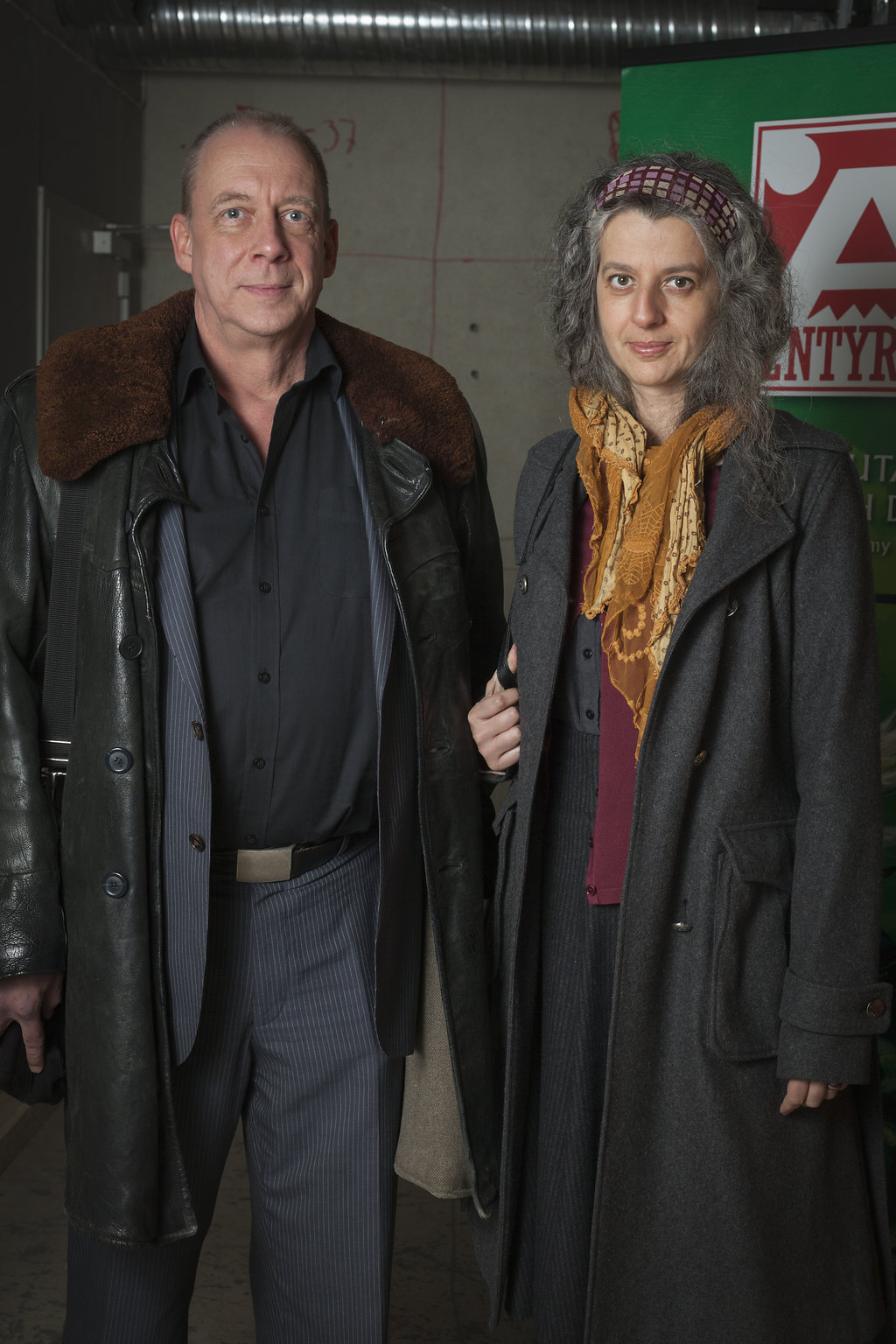 Anders Fager (konstruktör) och Lena Kempe