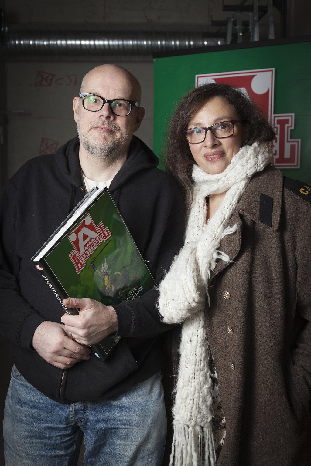 Tomas Arfert (illustratör) och Cecilia Jackson