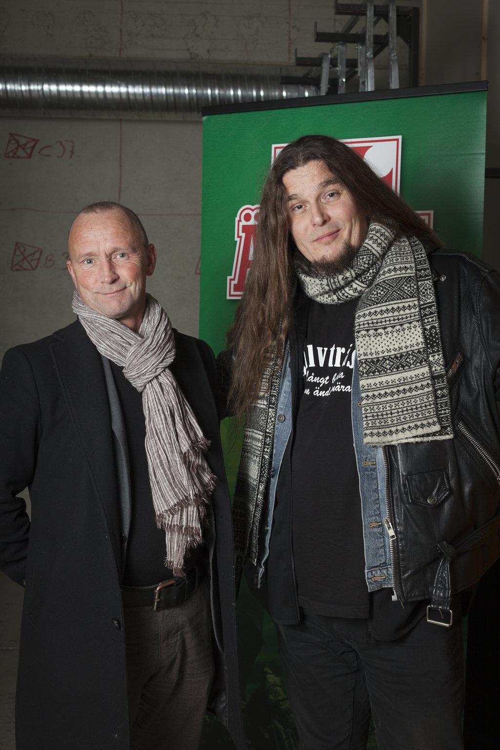 Nils Gulliksson och Michael Stenmark